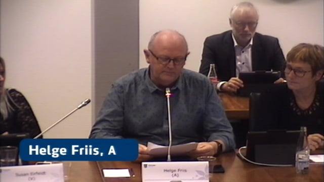Byrådsmøde d. 5 november 2019