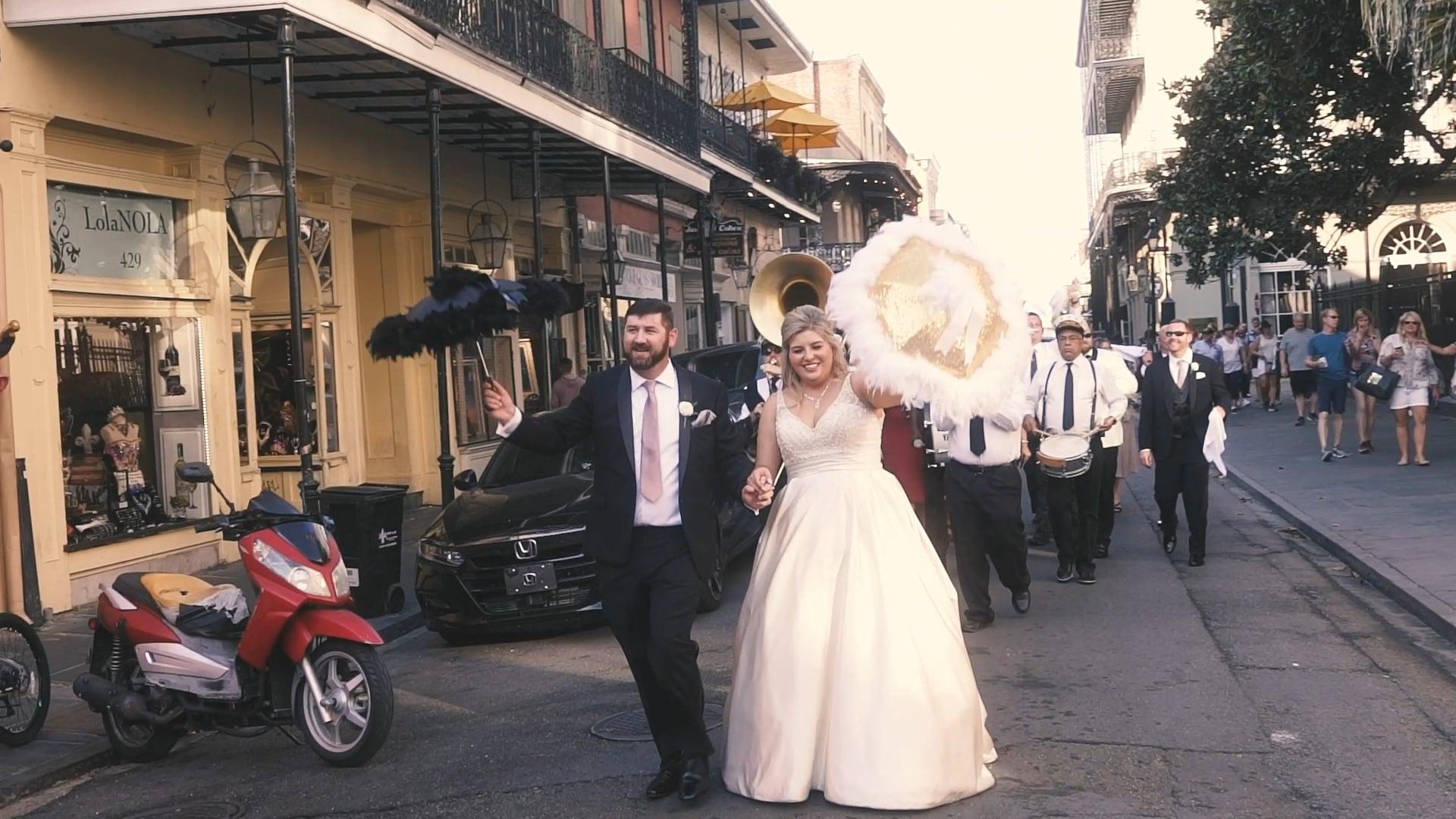 A Twilight Wedding at the New Orleans Pharmacy Museum | Kimberly & Brendan | Wedding Film