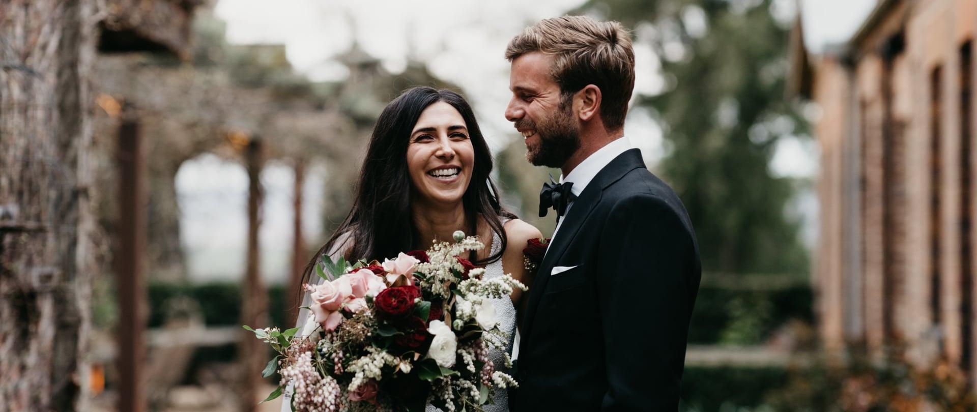 Natalie & Matt Wedding Video Filmed at Yarra Valley, Victoria