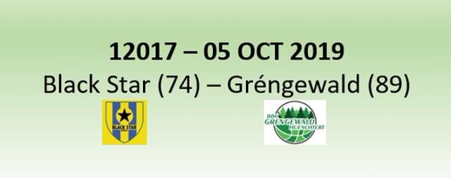 N2H 12017 Black Star Mersch (74) - Gréngewald Hueschtert (89) 05/10/2019
