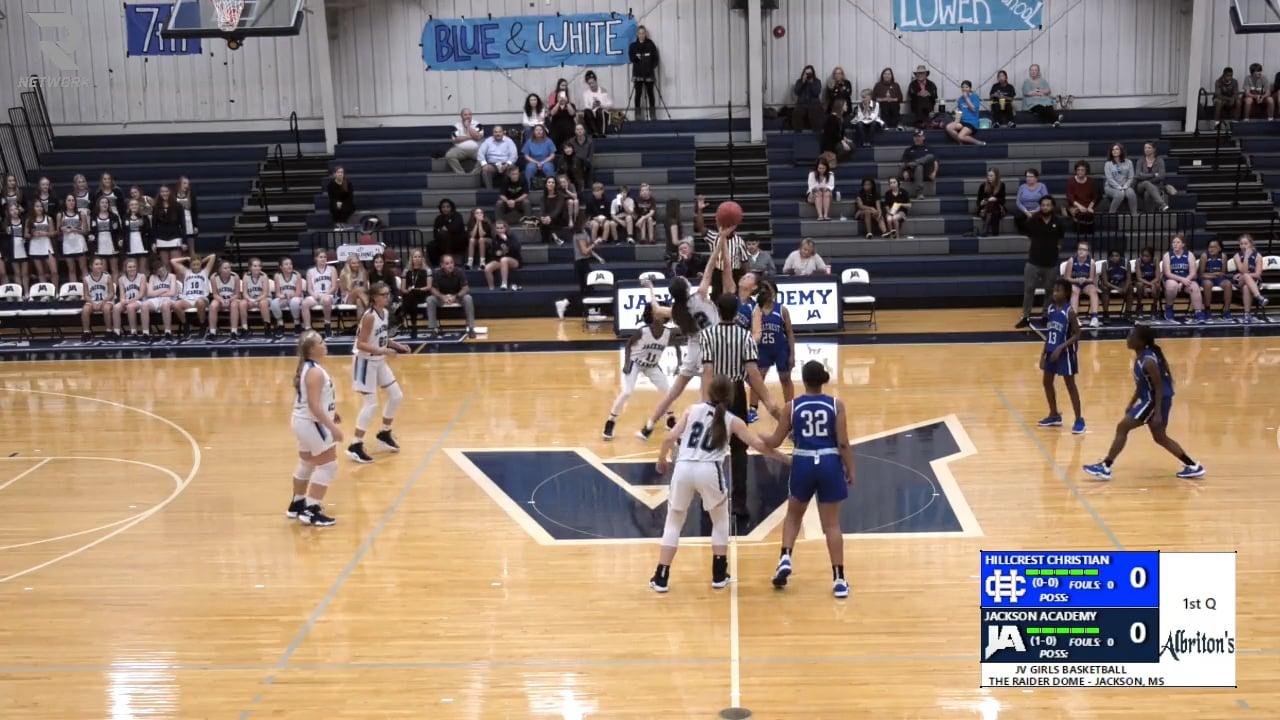 JV Girls Basketball-2019-Nov-5-Hillcrest Christian