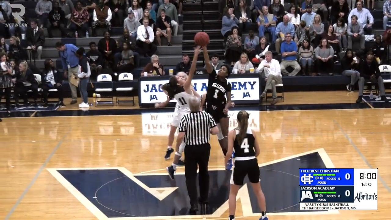 Varsity Girls Basketball-2019-Nov 5-Hillcrest Christian