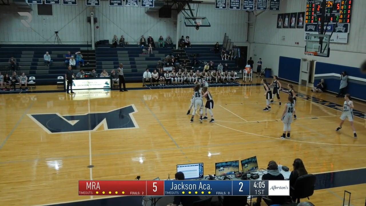 JV Girls Basketball-2019-Feb 5-MRA