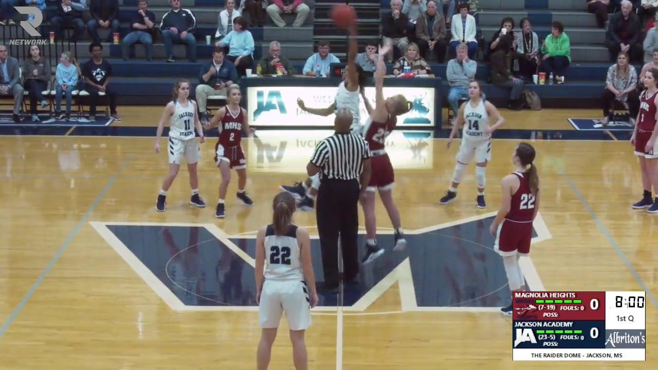 Varsity Girls Basketball-2019-Feb 12-Magnolia Heights