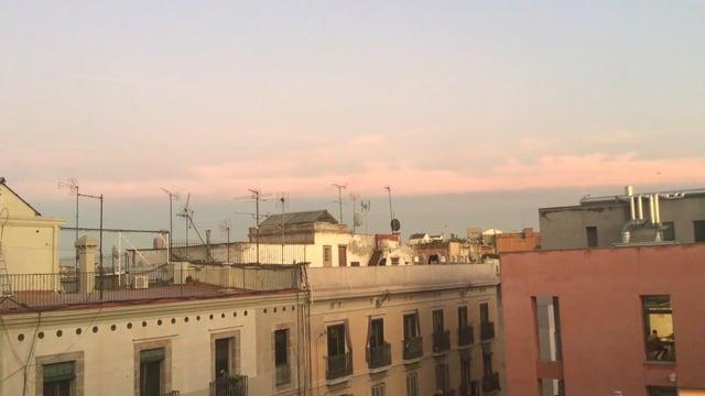 Filmo el cel al vespre, Juliene, Institut Milà i Fontanals (Barcelona)