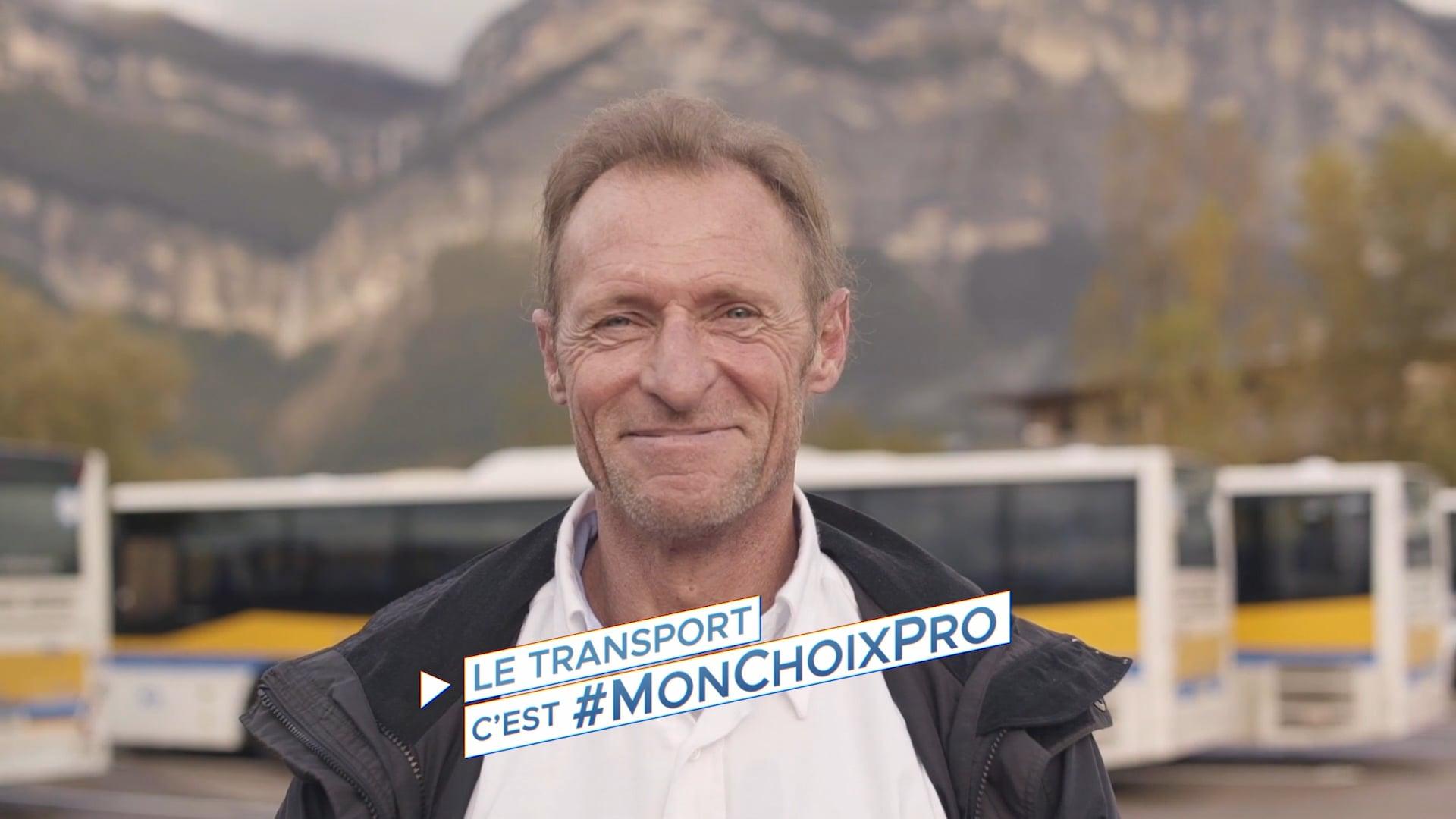 #MONCHOIXPRO | Conducteur de bus