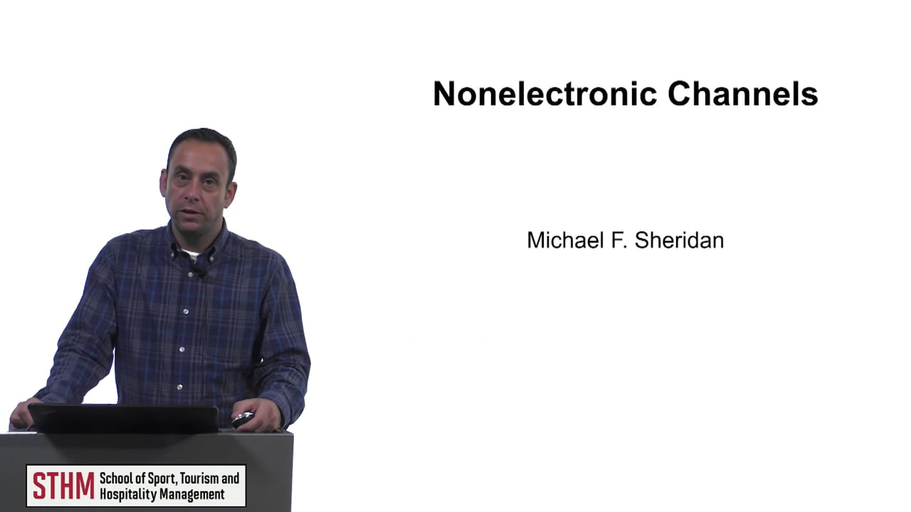 61631Nonelectronic Channels