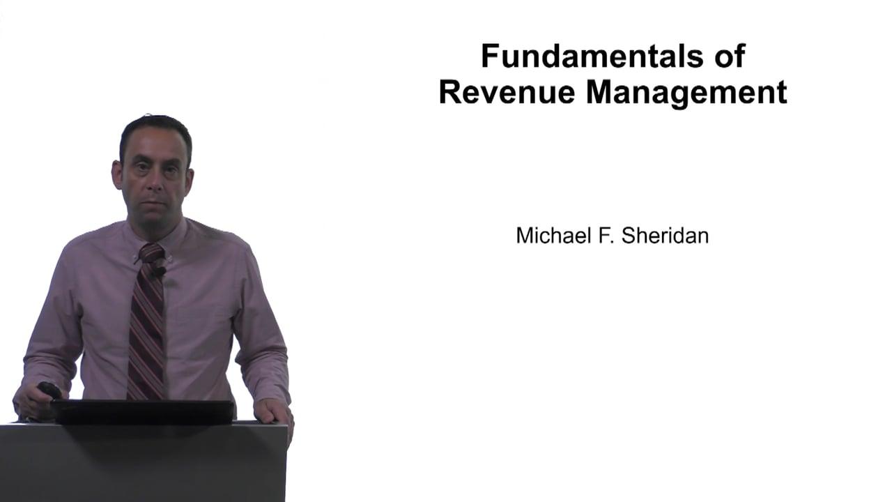 61646Fundamentals of Revenue Management