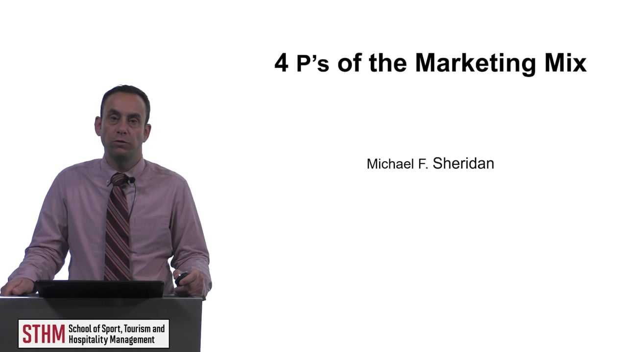 616444 P's of the Marketing Mix