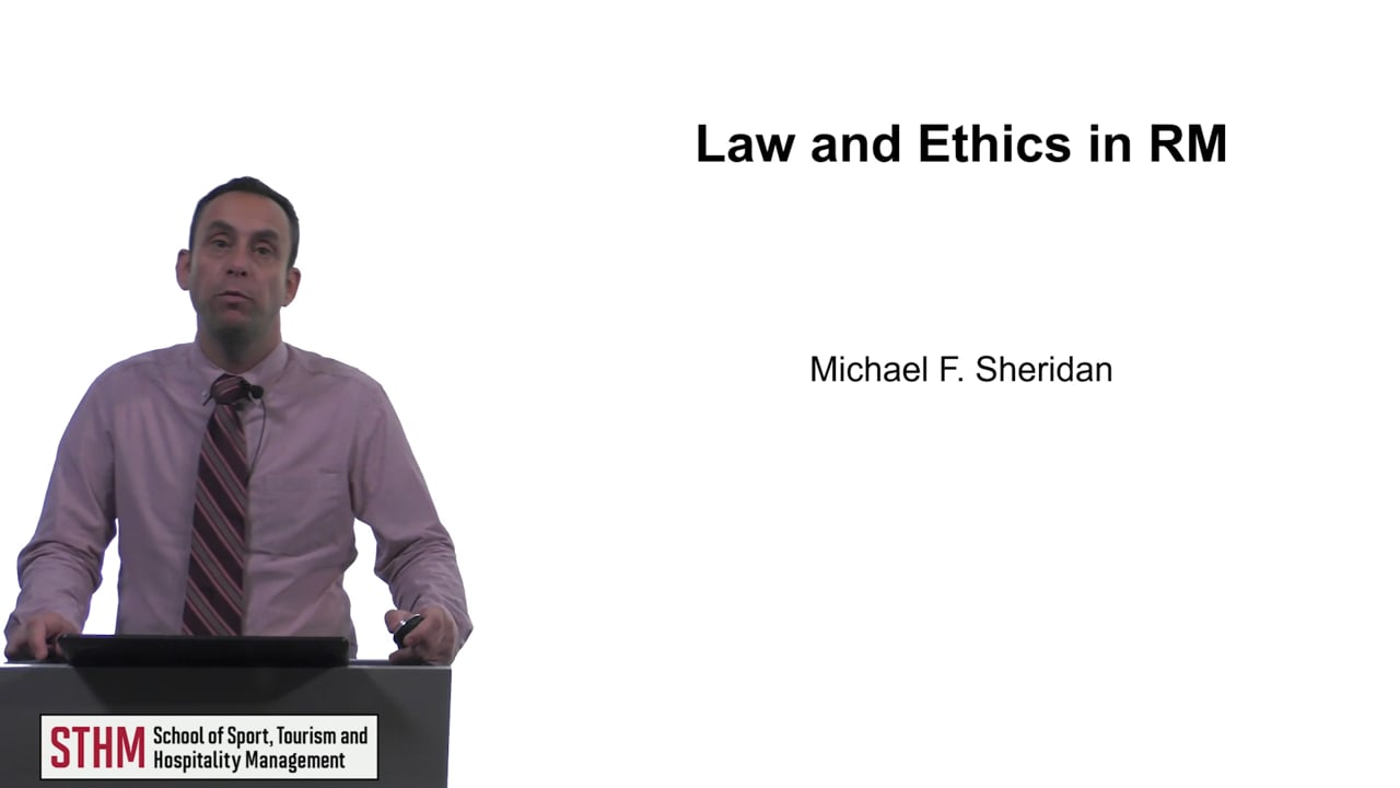 61638Law and Ethics in RM