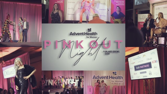 AdventHealth Pink Night Out 2019