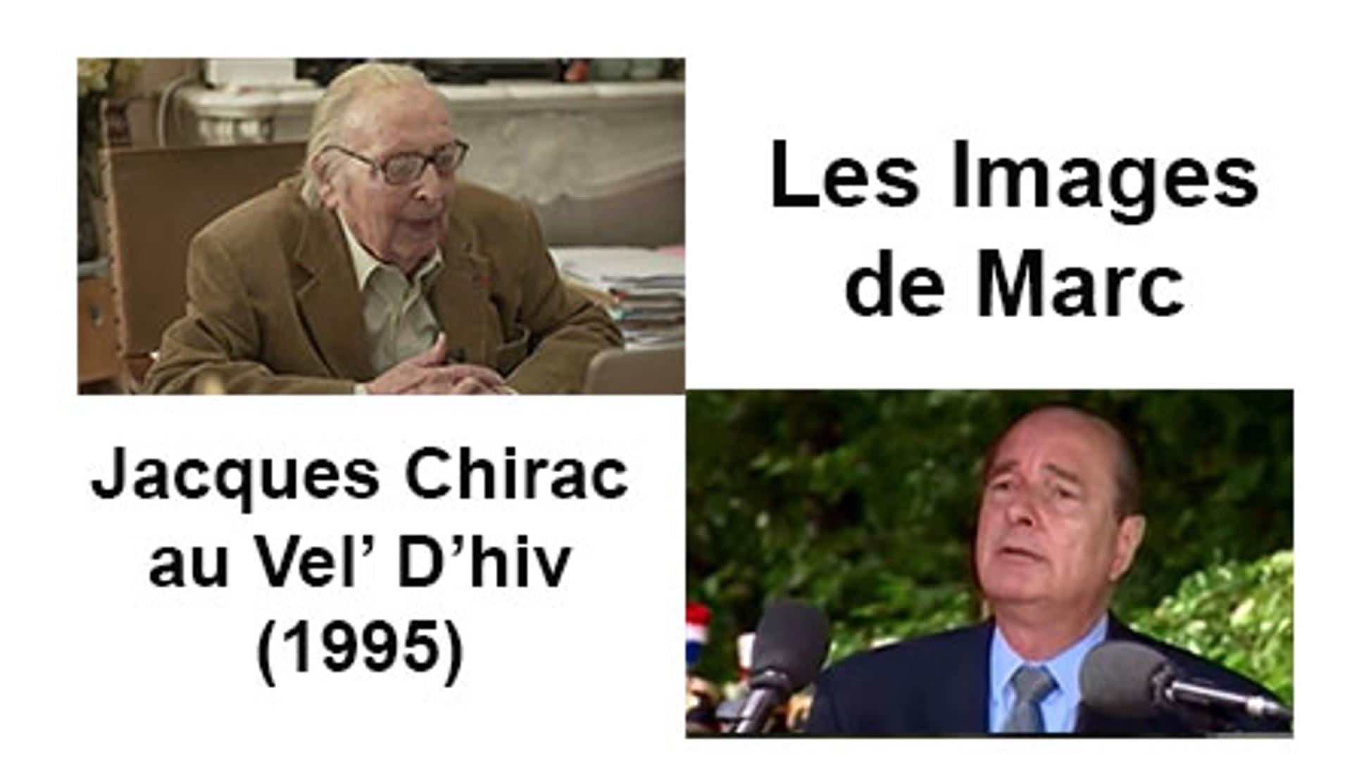 Jacques Chirac au Vel' D'hiv (1995)