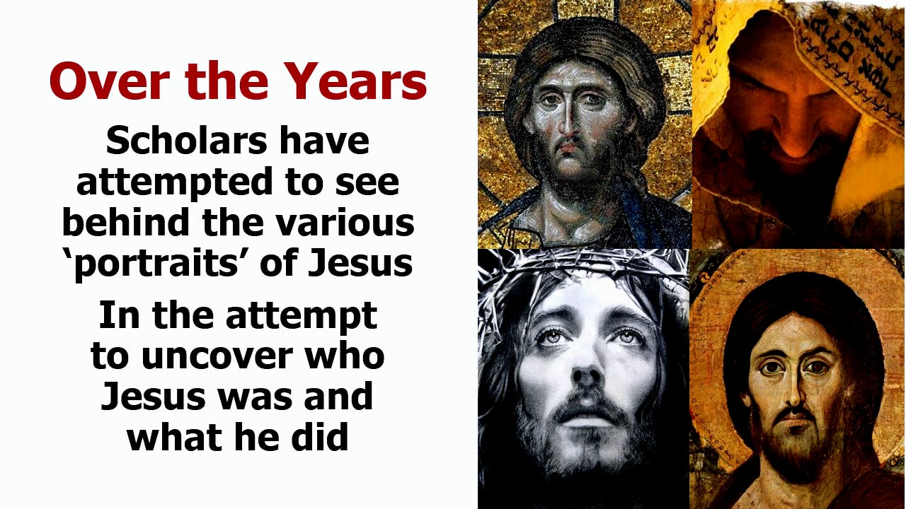 The Jesus of History and the Christ of Faith