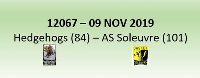 N2H 12067 Hedgehogs Bascharage (84) - AS Soleuvre (101) 09/11/2019