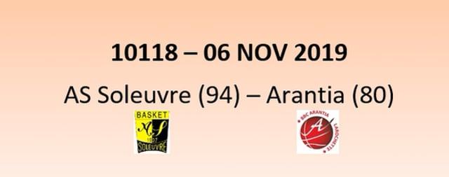 CUP 10118 AS Soleuvre (94) - Arantia Larochette (80) 06/11/2019