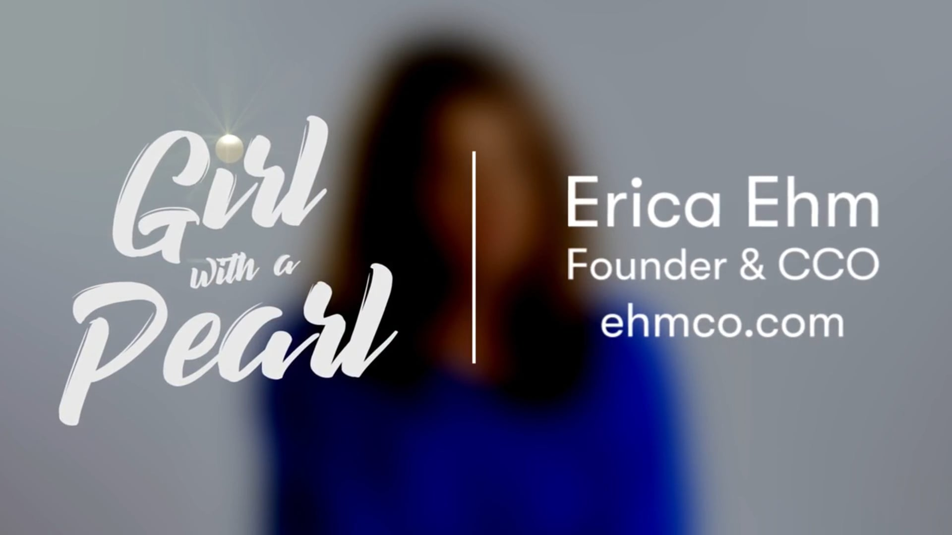 Erica Ehm talks about what it takes to succeed with a start up [720p]