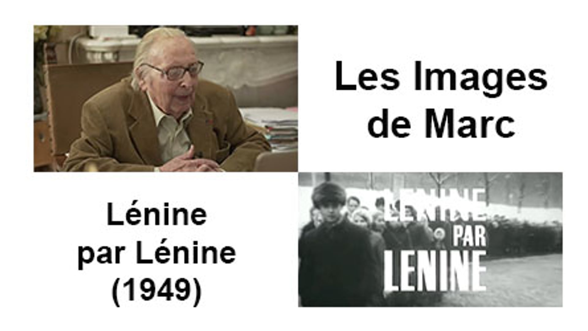 Lenine par Lenine (1970)