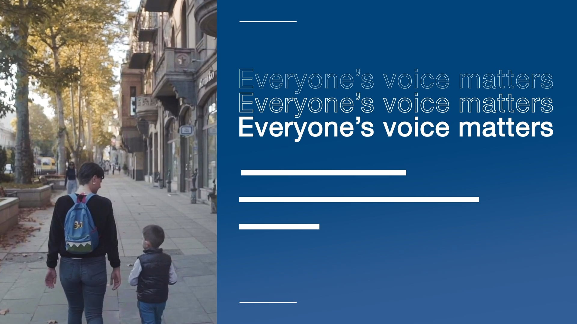 Everyone's voice matters - Georgia | Twitter