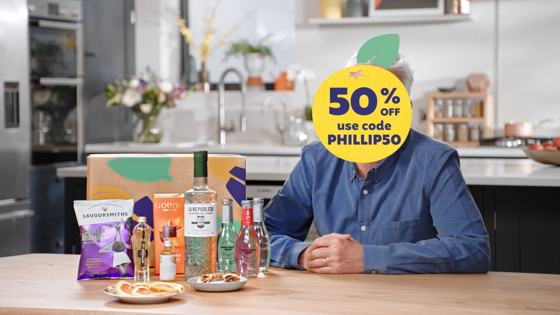 Craft Gin Club Philip 50