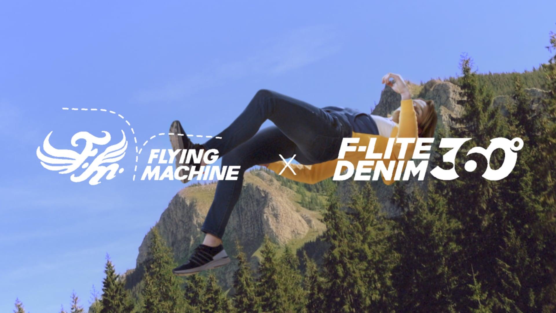 FLYING MACHINE - BREATHABLE DENIM