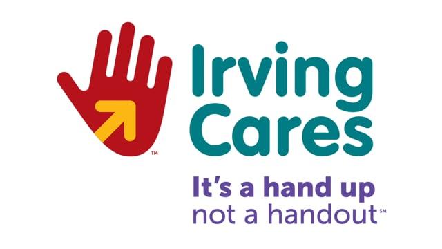 Irving Cares - Original Logo Design by FigDesign