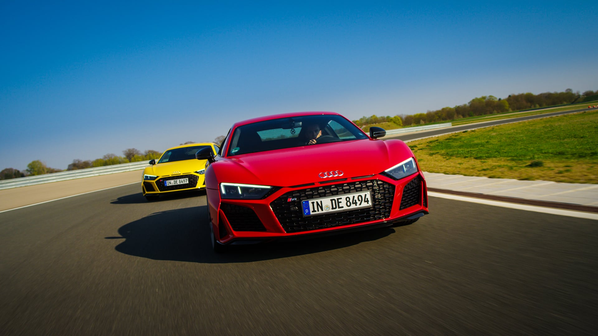 COMMERCIAL WORK: Audi R8 Driving Experience | 2019