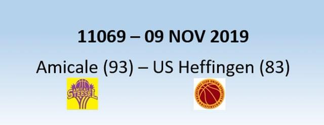 N1H 11069 Amicale Steinsel (93) - US Heffingen (83) 09/11/2019