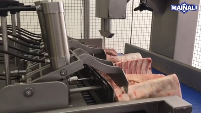 Pork ribs double cut