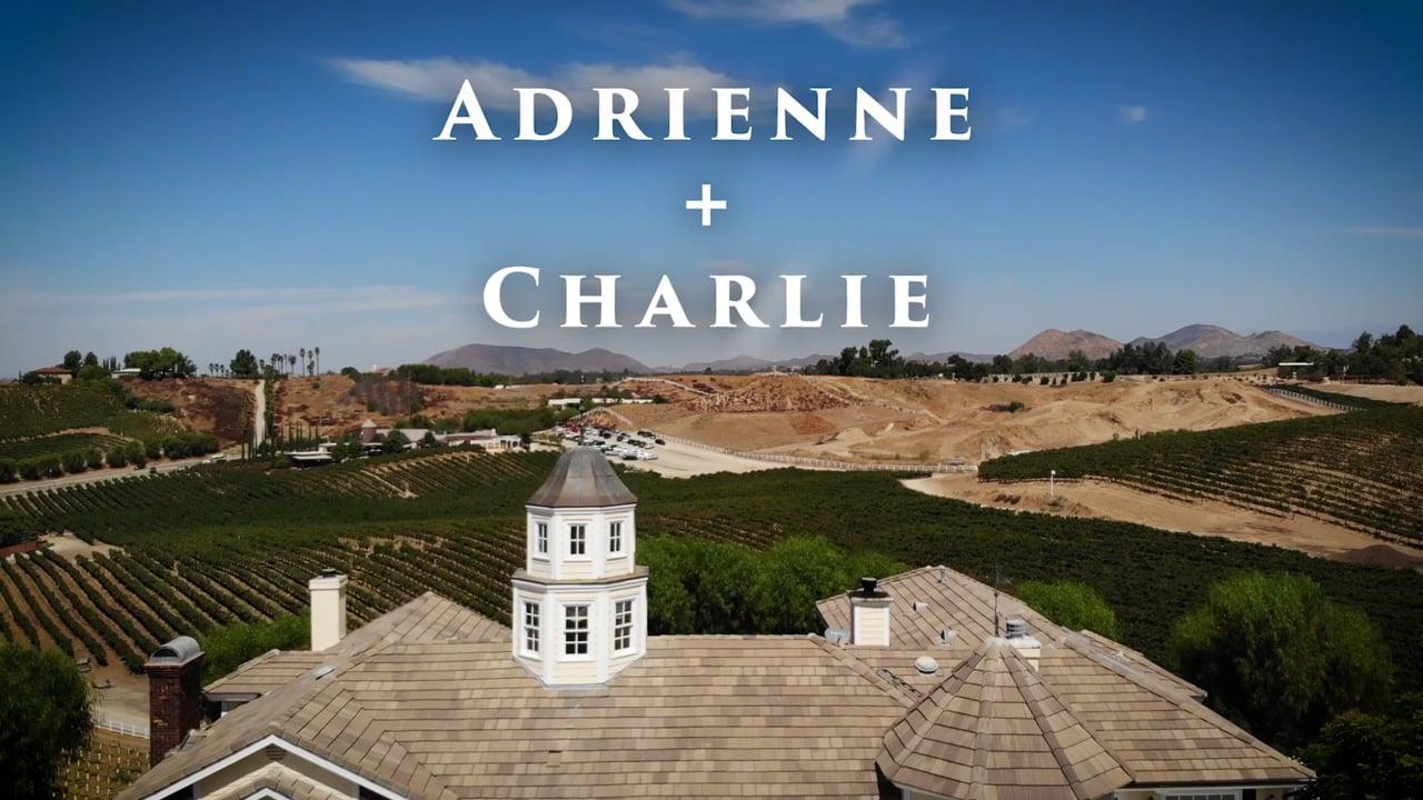 Adrienne + Charlie & Their Morgan Estate Temeucula Wedding Video
