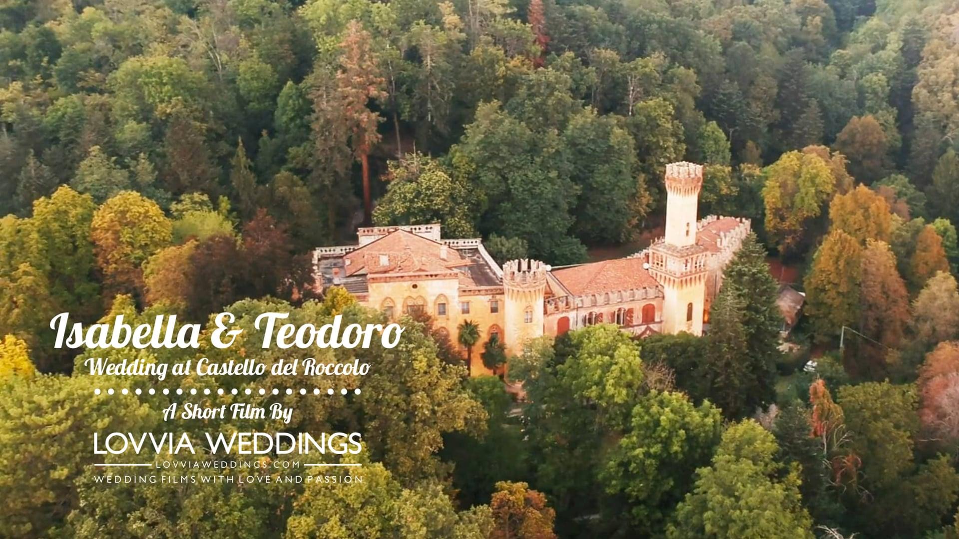 Wedding at Castello del Roccolo / Italy • Isabella & Teodoro (Trailer) lovviaweddings.com