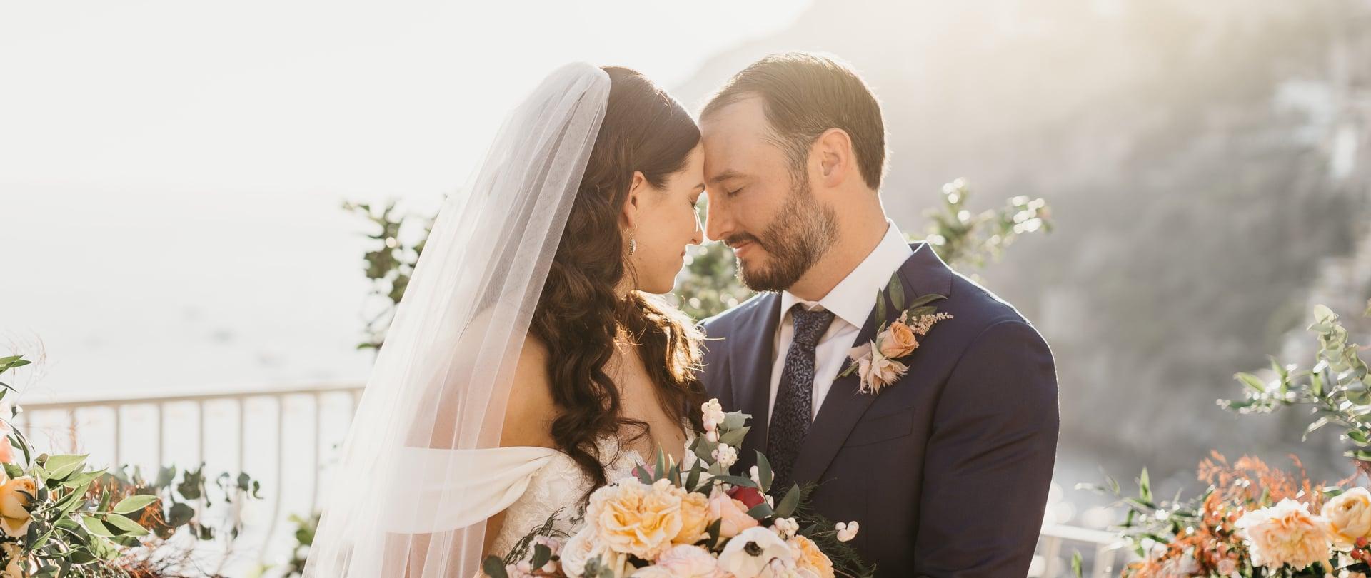 Sara & Austin Wedding Video Filmed at Positano, Italy