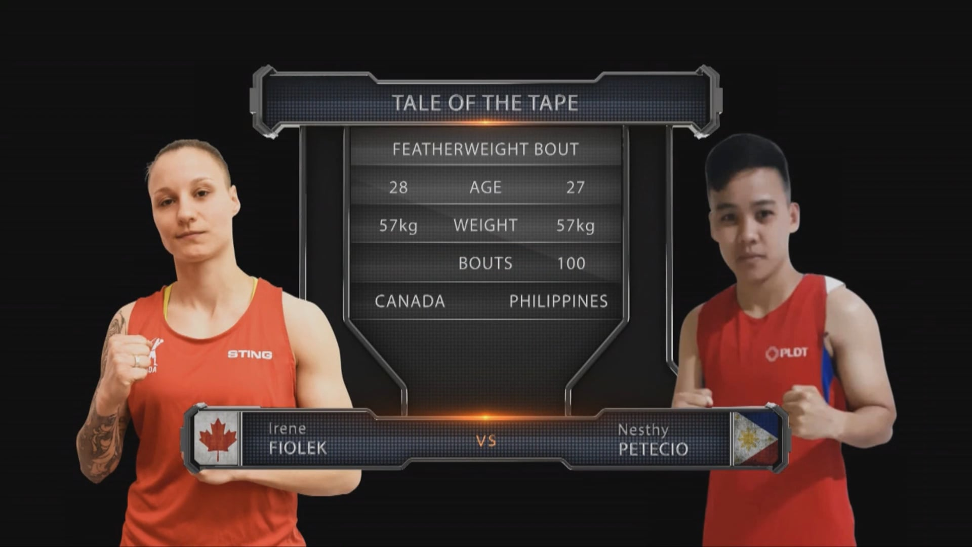 Irene Fiolek (CAN) vs Nesthy Petecio (PHL)