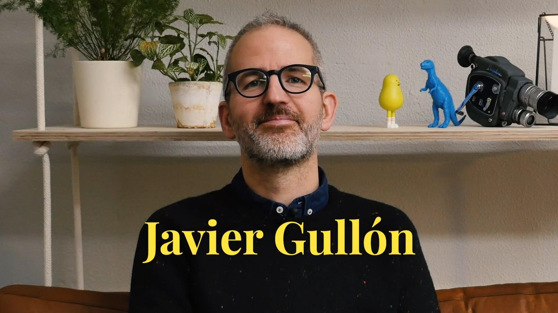 VDVET - Aritz Moreno habla de Javier Gullón