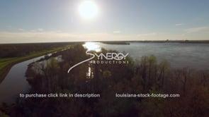 1476 banks of the Mississippi River at flood stage
