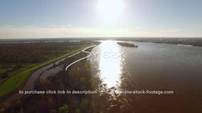 1481 Mississippi River at flood stage
