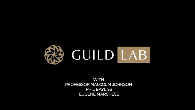 Guild Lab with Professor Malcolm Johnson, Phil Bayliss and Eugene Marchese