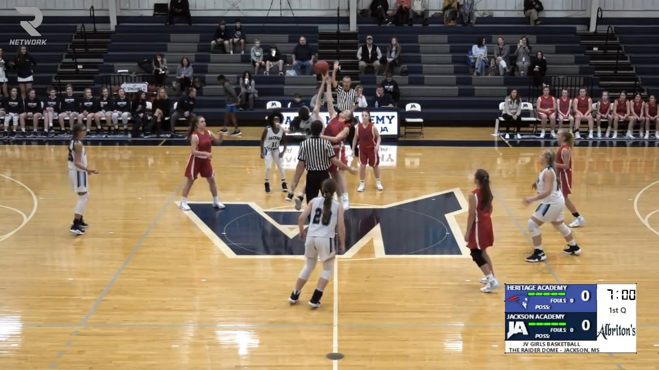 JV Girls Basketball-2019-Nov 14-Heritage