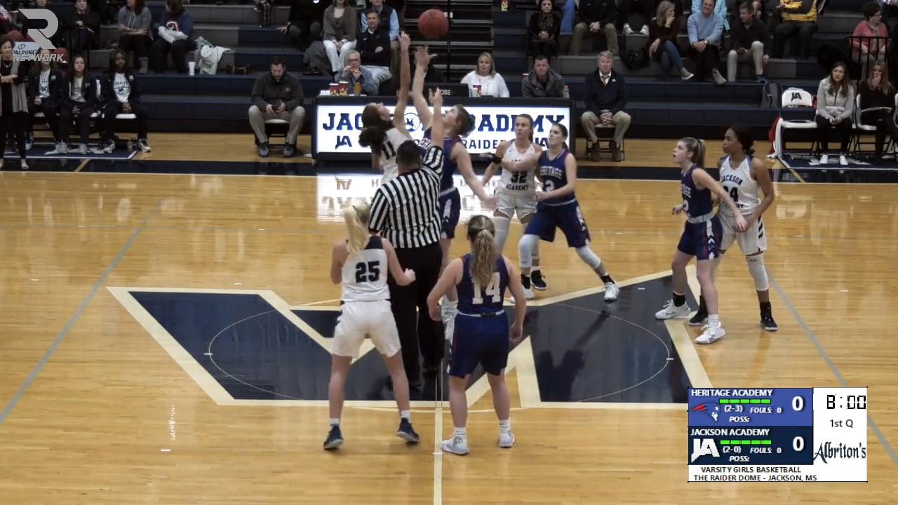 Varsity Girls Basketball-2019-Nov 14-Heritage