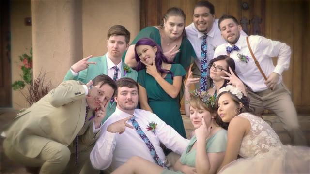 Vitoria + Matthew Wedding Highlights - Hacienda dona Andrea, Santa Fe NM - Oct 2019 - Rev11/19