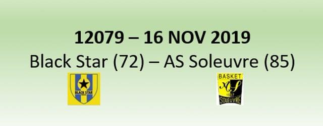 N2 12079 Black Star Mersch (72) - AS Soleuvre (85) 16/11/2019
