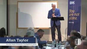 Discipleship Dinner, Allan Taylor - Annual Homecoming 2019 | SBC of Virginia