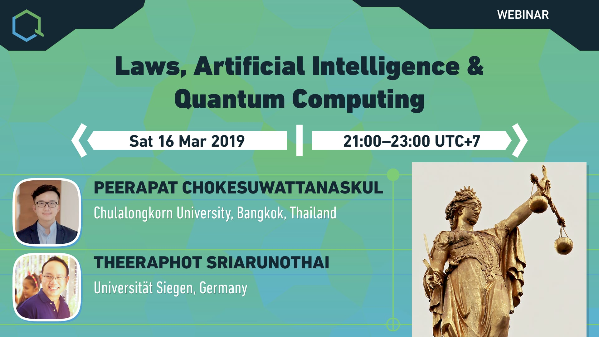 Laws, Artificial Intelligence & Quantum Computing