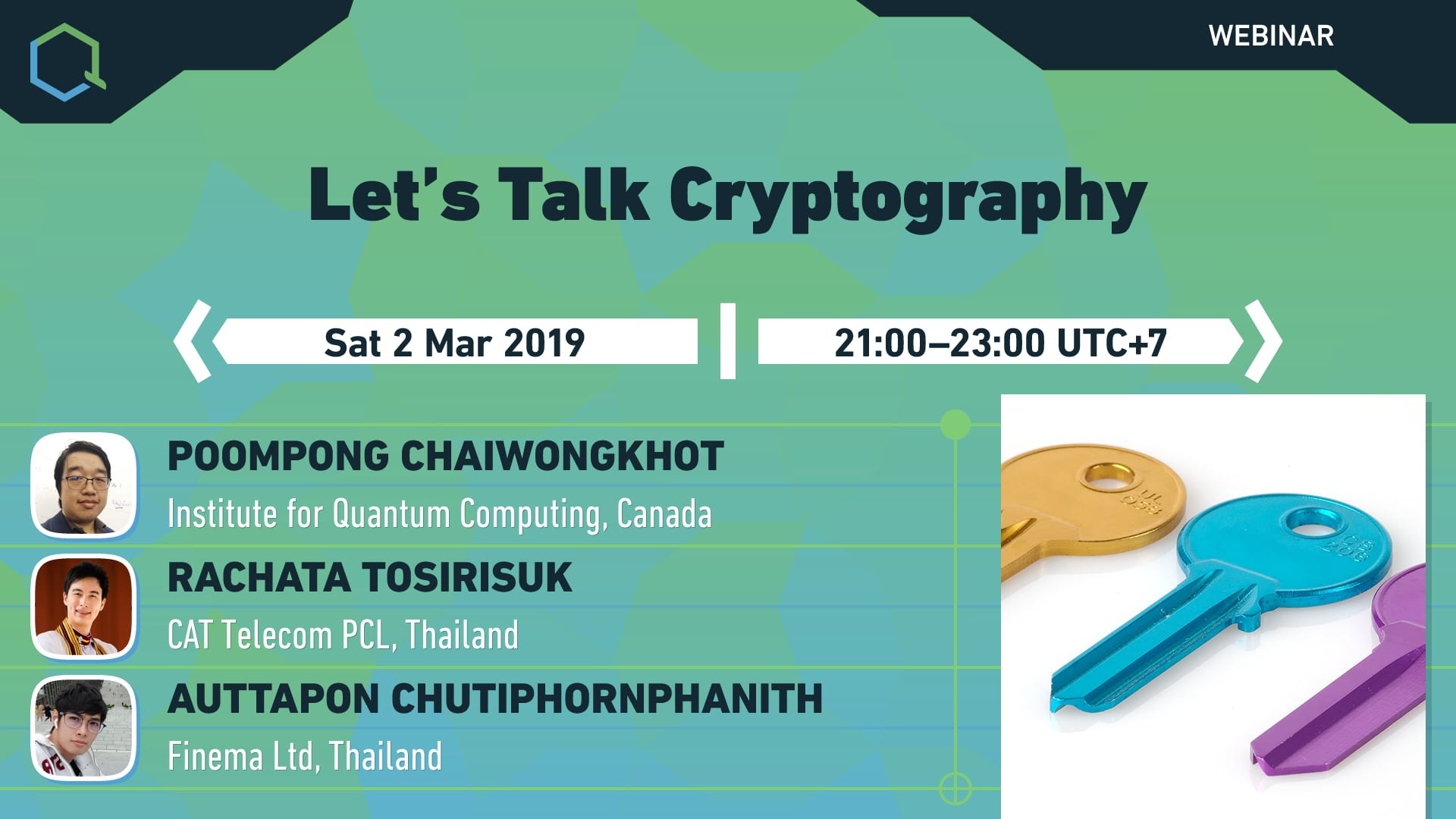 Let's Talk Cryptography
