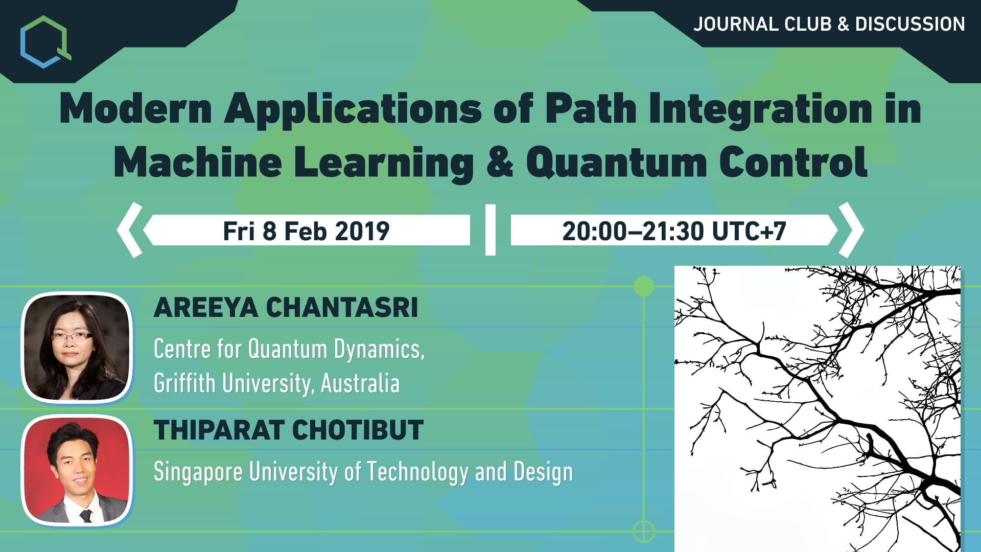 Modern Applications of Path Integration in Machine Learning and Quantum Control