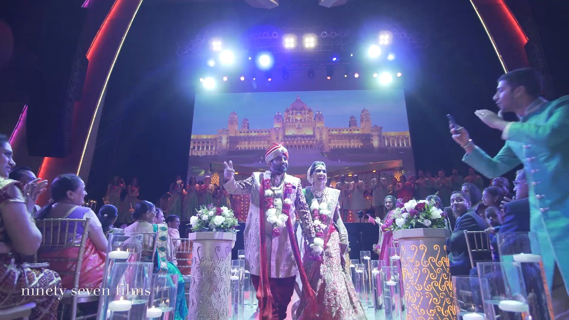 Motor City Casino Hotel Detroit Hindu Wedding | Sapna + Chintan Same Day Film
