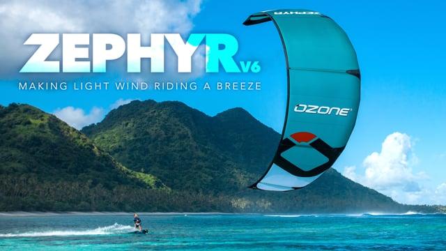 Ozone Zephyr V6 - Making light wind riding a breeze