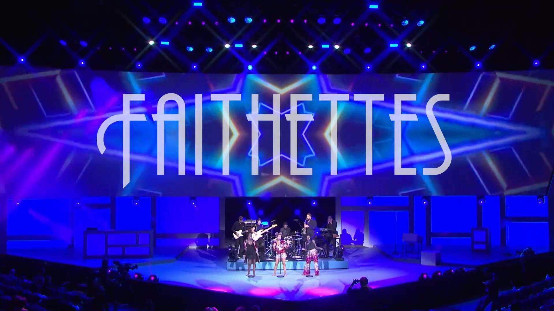 FAITHETTES Crazy in love_ showreel band
