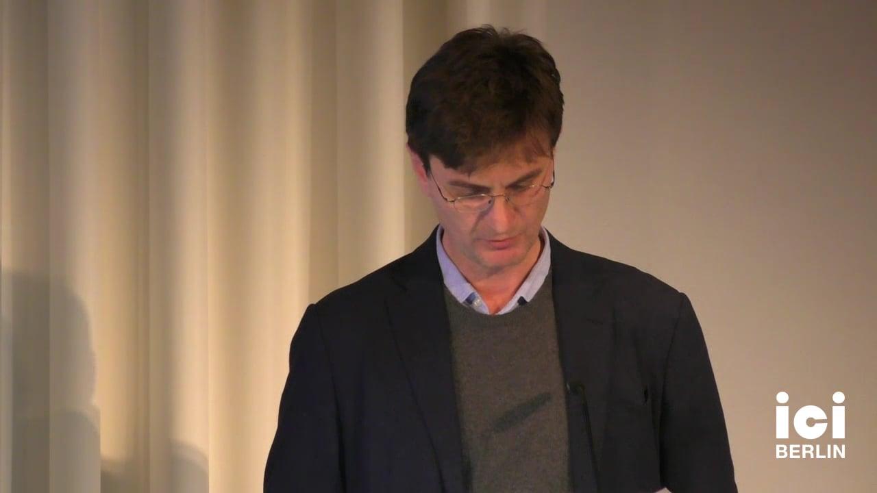 Talk by Federico Luisetti