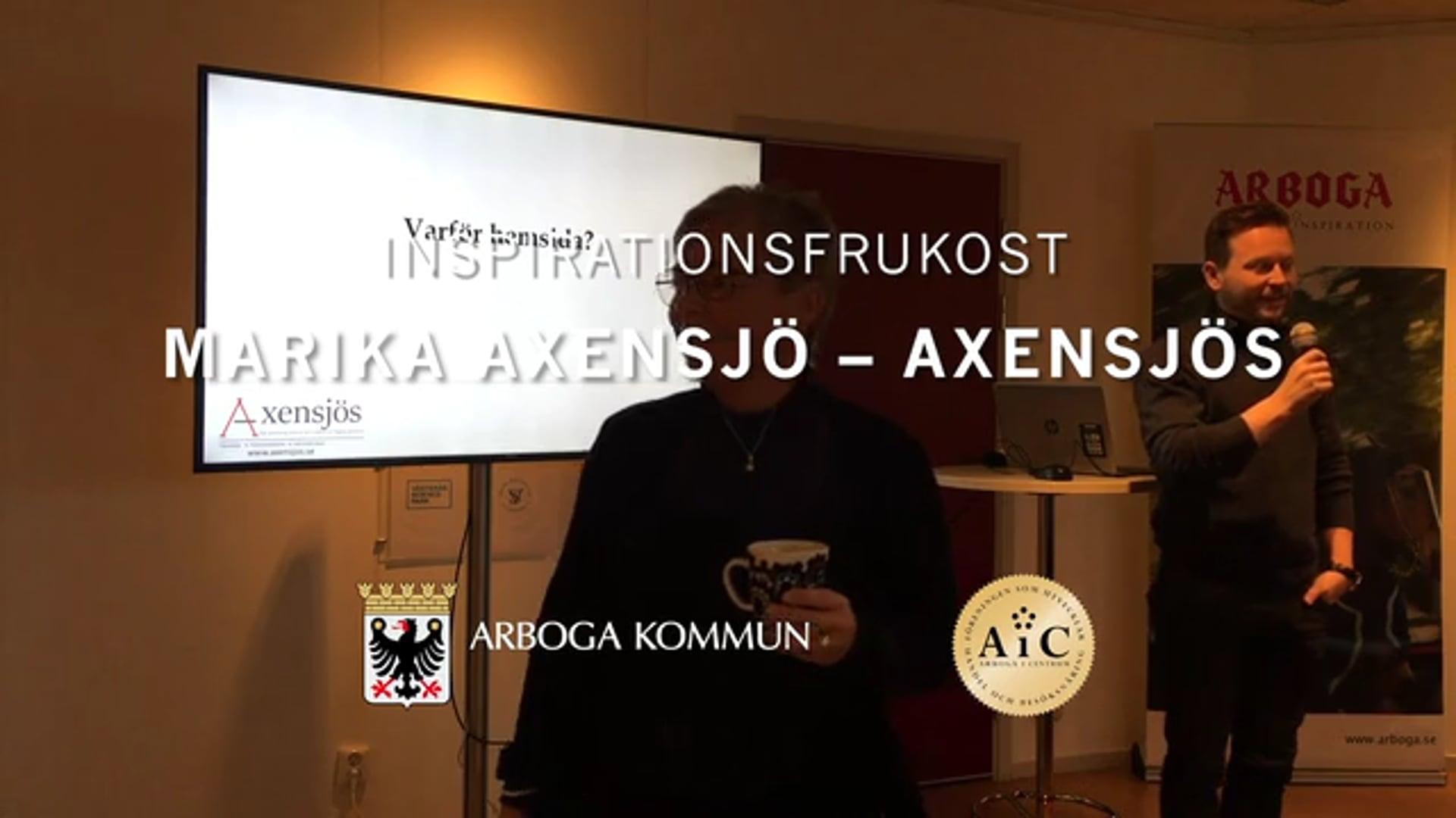 Inspirationsfrukost november 2019 - Marika Axensjö