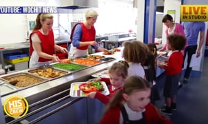School Turns Leftover Cafeteria Food Into Frozen, Take-Home Meals